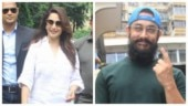 Aamir Khan to Madhuri Dixit: Bollywood celebs vote in Mumbai