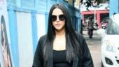 Neha Dhupia in oversized jacket and baggy pants shows how to make athleisure sexy. See pics