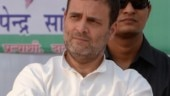 Haryana polls: Rahul Gandhi addresses rally in Mahendragarh, see pics