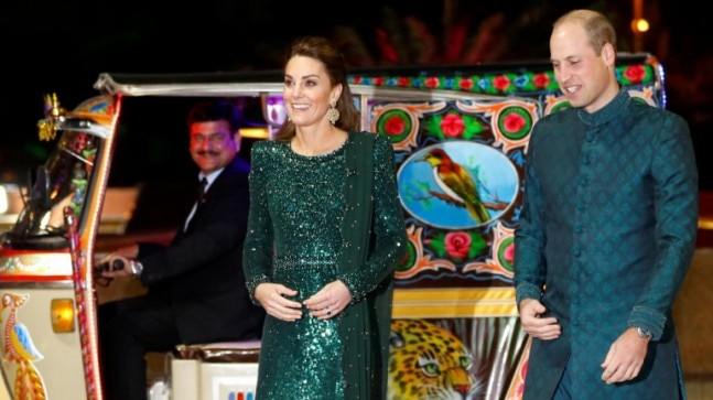 Kate Middleton and Prince William looked stunning together. Photo: Reuters