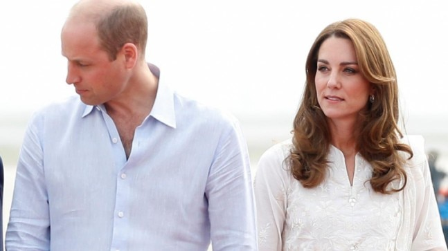 Prince William and Kate Middleton in Lahore Photo: Reuters