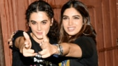 Taapsee Pannu and Bhumi Pednekar steal the show at Saand Ki Aankh screening. See pics