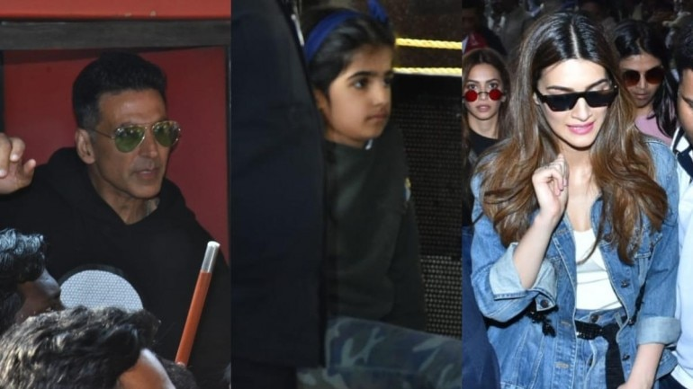 Akshay Kumar and the team of Housefull 4 promote their upcoming movie.