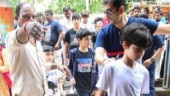 Hrithik Roshan's sons Hridhaan and Hrehaan take Sonali Bendre's son Ranveer to see War