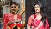 Karwa Chauth 2019: Raveena Tandon and Shilpa Shetty reach Sunita Kapoor's home