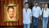 Viju Khote prayer meet: Celebrities pay last respects