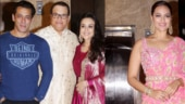 Ramesh Taurani Diwali bash: Salman Khan kicks off celebrations with Sonakshi Sinha and Preity Zinta