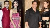 Salman Khan-Saiee Manjrekar to Shilpa Shetty-Raj Kundra: B-Town attends Ramesh Taurani's Diwali bash