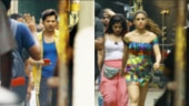 Coolie No 1: Sara Ali Khan and Varun Dhawan snapped on sets. See pics