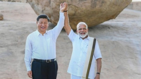 Modi-Xi's informal day out in photos