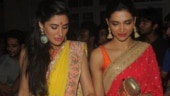 Worrying about your Diwali outfit? Take cues from Nargis Fakhri and Deepika Padukone's festive sarees