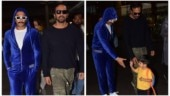 Simmba duo Ranveer Singh and Rohit Shetty meet little fan at airport. See pics
