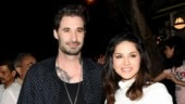 Sunny Leone is stylish in top and skirt on dinner date with husband Daniel Weber. See pics