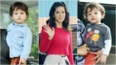 Sunny Leone is comfortable in casuals on day out with kids. See pics