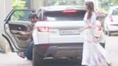 Sushant Singh Rajput and Rhea Chakraborty step out together. See pics