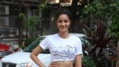 Ananya Panday turns into classy diva in crop top and skirt at Pati Patni Aur Woh promotions
