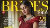 Ananya Panday looks dreamy on the November cover of Brides Today. See pics