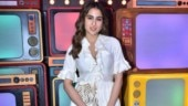 Sara Ali Khan in silk kurta and pants goes ethnic chic for a TV show. See pics