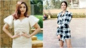 Bhumi Pednekar is a dream in white, Ananya Panday pulls off plaid co-ords in Mumbai. See pics