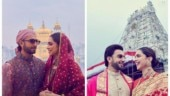 In pics: Deepika Padukone and Ranveer Singh first wedding anniversary celebration