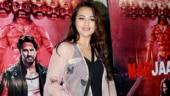 Sonakshi Sinha pairs mini black dress with sheer cape, nails casual night fashion