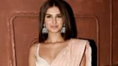 Tara Sutaria in stunning saree and bralette channels her inner desi girl for Marjaavaan screening