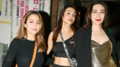 Amrita Arora, Malaika Arora and Karisma Kapoor Photo: Yogen Shah