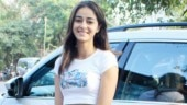 Ananya Panday is casually pretty in crop top and mini shorts on day out. See pics