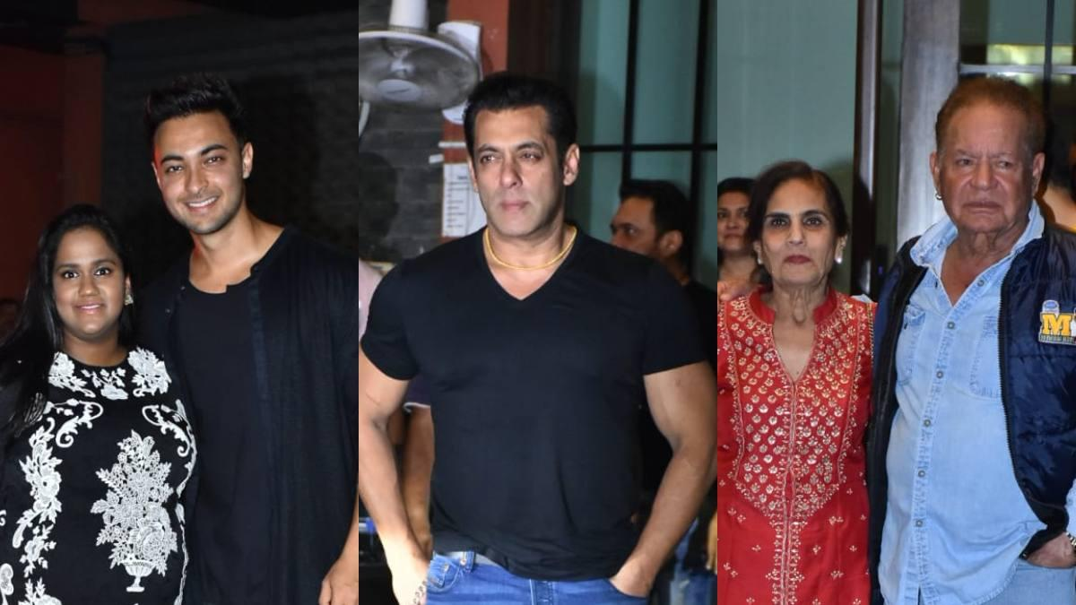 Salman Khan's parents completed 55 years of being together, while his sister and brother-in-law celebrated 5 years of their wedding on Monday.
