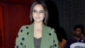 Sonakshi Sinha is chic in green outfit at Arpita-Aayush's wedding anniversary party. See pics