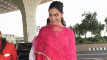 Deepika Padukone at Mumbai airport (Photo: Yogen Shah)