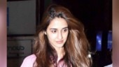 Disha Patani pairs sweatshirt with mini shorts on dinner date. We can relate