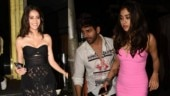 Kartik Aaryan celebrates 29th birthday with Ananya Panday and Janhvi Kapoor. See pics