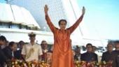 Uddhav Thackeray takes oath as chief minister of Maharashtra: Photos