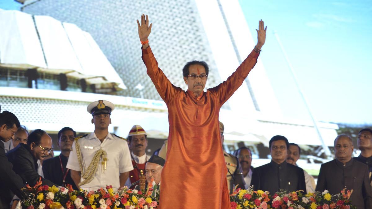 Uddhav Thackeray takes oath as chief minister of Maharashtra