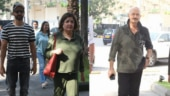 Hrithik Roshan steps out for family lunch with sister Sunaina and dad Rakesh Roshan. See pics