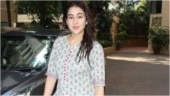 Sara Ali Khan in pretty ethnic ensemble is all smiles after a workout session at the gym. See pics