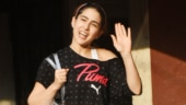 Sara Ali Khan flaunts her figure in crop top and tights at gym. See pics