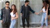Rumoured couple Sidharth Malhotra and Tara Sutaria step out for Marjaavaan promotions