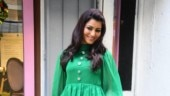 Urvashi Rautela makes a rare fashion blunder in green dress. Reminds us of Christmas tree