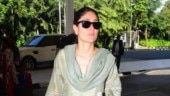 Kareena Kapoor in green ethnic ensemble is the queen of monotone dressing. See pics