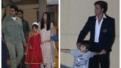 Shah Rukh Khan, Aishwarya attend kids' annual day with AbRam, Aaradhya. Nita Ambani also in attendance