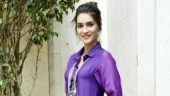 Kriti Sanon does colour blocking right in long cotton dress worth Rs 8k. See pics
