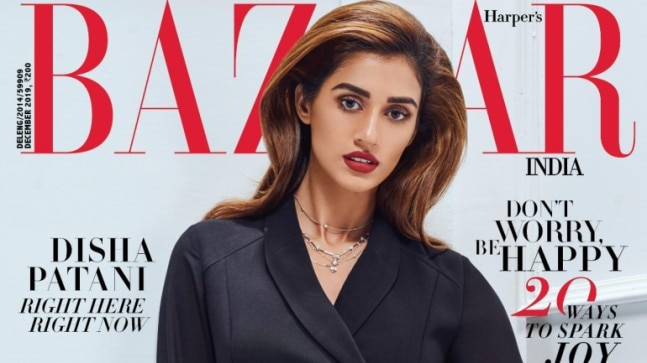 Disha Patani on Harper's Bazaar India cover