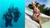 Hina Khan enjoys exotic Maldives vacation with boyfriend Rocky Jaiswal. See pics