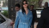 Kiara Advani does the denim on denim look right with perfection at Good Newwz promotions