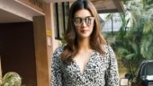 Kriti Sanon in printed top and distressed denims is all about comfy vibes on day out. See pics