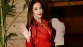 Malaika Arora is undeniably beautiful in all-red look at Kareena Kapoor's Christmas party