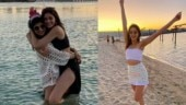 Ananya Panday proves she is a beach bum during Dubai vacation with friends. See pics