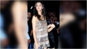 Ananya Panday glitters in sequinned mini dress at Pati Patni Aur Woh promotions. See pics